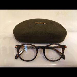 Tom Ford Tortoise Eyeglasses